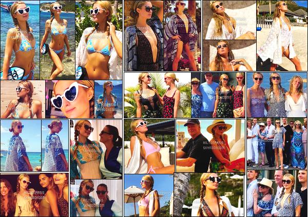 """--------------------------------------  """"""""RESEAUX SOCIAUX"""""""" Découvrez les dernières photos de mlle Paris toujours  actif sur Instagram ou Snapchat. Mai 2018 -  Quelques photos de  la jolie Paris Hilton   savourant ses vacances au soleil à St Barts. J'adore toutes les photos, elle est belle. --------------------------------------"""