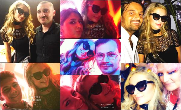 """--------------------------------------  """"""""RESEAUX SOCIAUX"""""""" Découvrez les dernières photos de mlle Paris toujours  actif sur Instagram ou Snapchat. Juin 2018 -   Quelques photos  de merveilleuse Paris Hilton    mixant dans la boite de nuit. Au top cette robe. J'adore vraiment ses cheveux. --------------------------------------"""