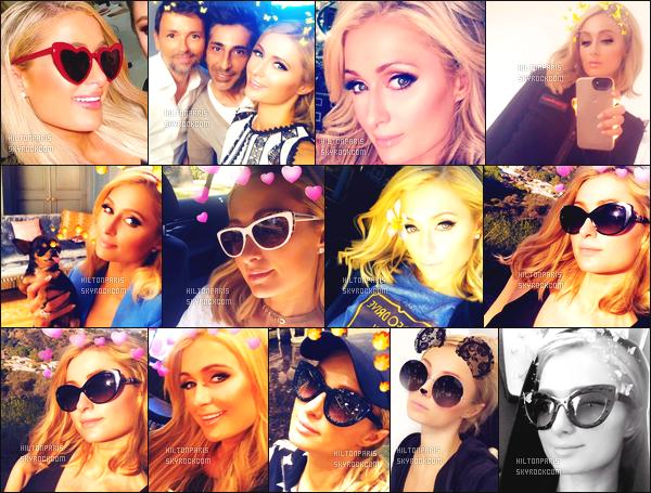 """--------------------------------------  """"""""RESEAUX SOCIAUX"""""""" Découvrez les dernières photos de mlle Paris toujours  actif sur Instagram ou Snapchat. Juin 2018 -  Quelques photos de  Paris   Hilton pris sur Snapchat quelques jours différents. Elle est tellement mignonne. Au top vraiment. --------------------------------------"""