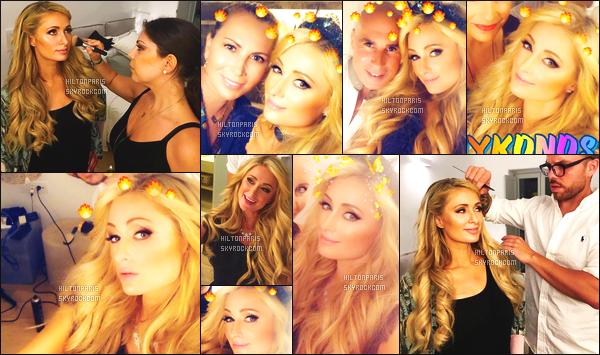 """--------------------------------------  """"""""RESEAUX SOCIAUX"""""""" Découvrez les dernières photos de mlle Paris toujours  actif sur Instagram ou Snapchat. Juillet 2018 -  Quelques photos de  Paris   Hilton entrain de se faire maquiller en Grece. Elle est tellement belle j'adore ses cheveux. Top. --------------------------------------"""