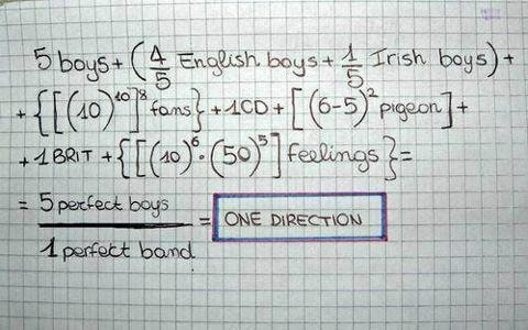 maths = one addition !
