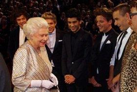 La reine et les 1D