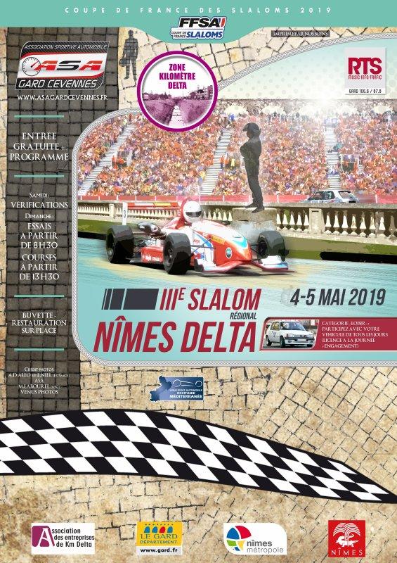Slaloms Nîmes Delta/Nîmes Métropole