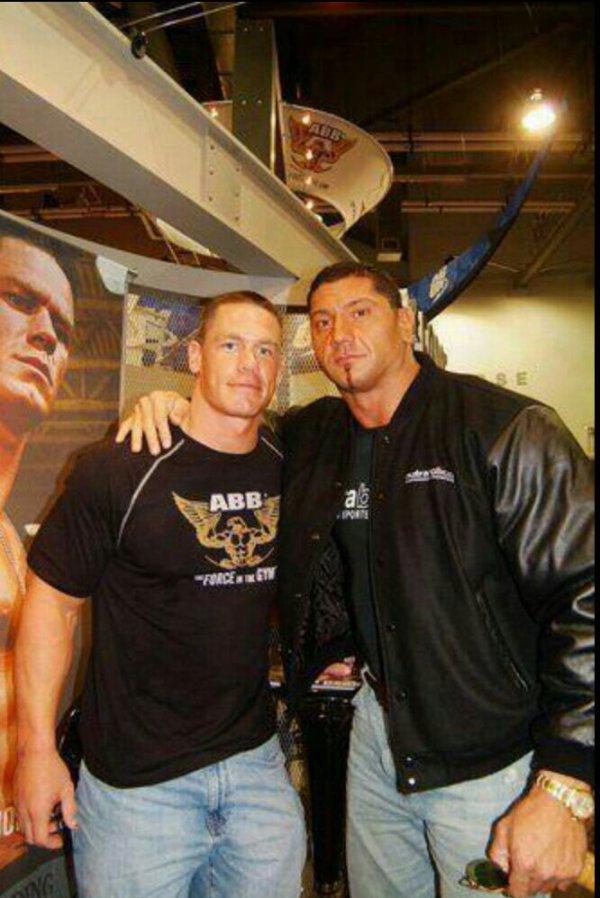John Cena et Batista