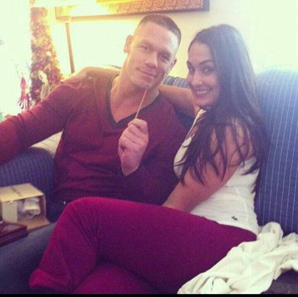 John Cena en charmante compagnie