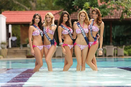 Miss France 2014 - Autres photos en maillot de bain