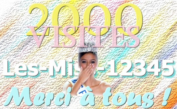 2000 visites sur le blog !