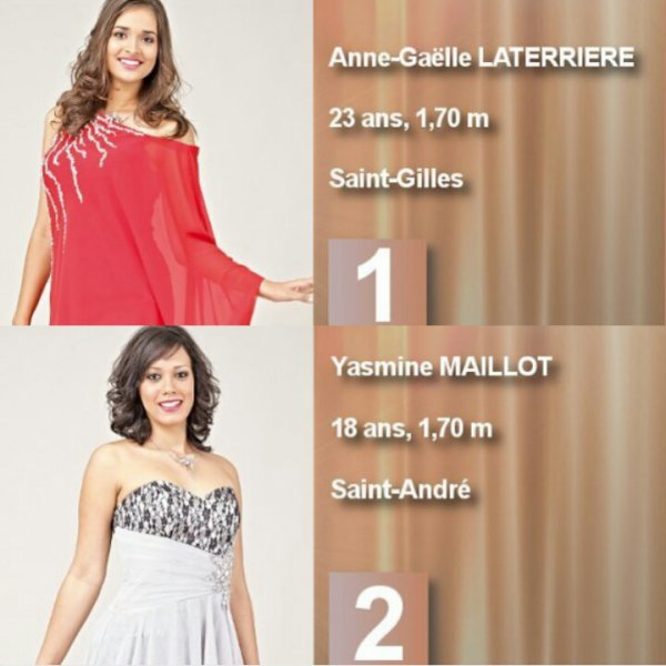 Miss Réunion 2014 - Les candidates