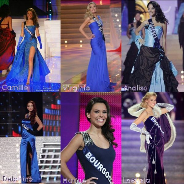 Miss France - L'annonce du top 12