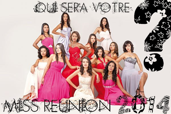 Miss Réunion 2014 - Election du blog