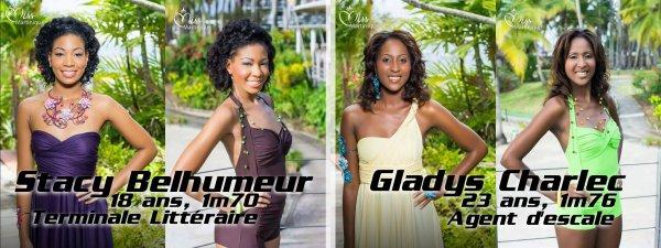 Miss Martinique 2014 - Les candidates
