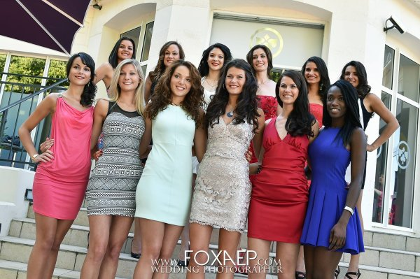 Miss Bourgogne 2014 - Photos officielles des candidates