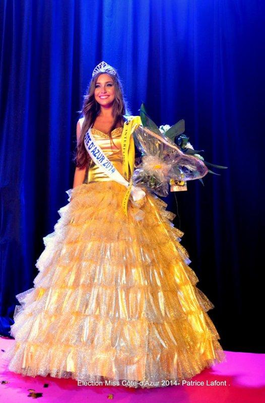 ÉLECTION RÉGIONALE - Miss Côte d'Azur 2014, Charlotte Pirroni