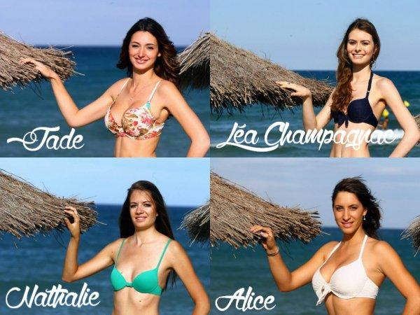 Miss Roussillon 2014 - Photos officielles des candidates