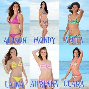 Miss Nouvelle-Calédonie 2014 - Photos en maillot de bain et présentations des candidates