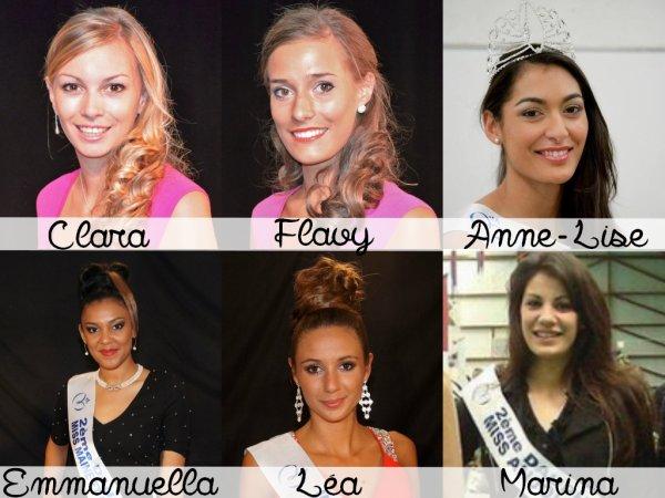 Miss Pays de Loire 2014 - Les candidates