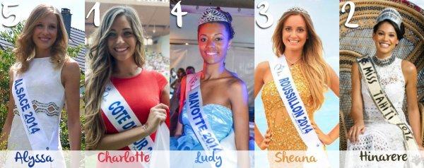 Miss France 2015 - Et si on connaissait déjà le top 12 ?