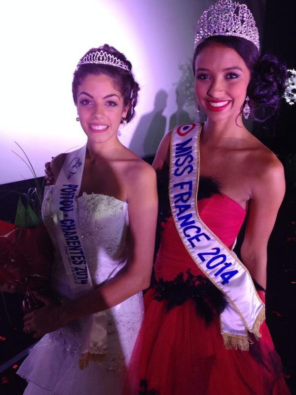 ÉLECTION RÉGIONALE - Miss Poitou-Charentes 2014, Mathilde Hubert
