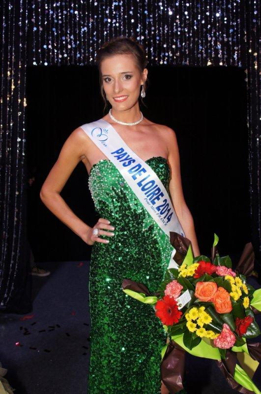 ÉLECTION RÉGIONALE - Miss Pays de Loire 2014, Flavy Facon