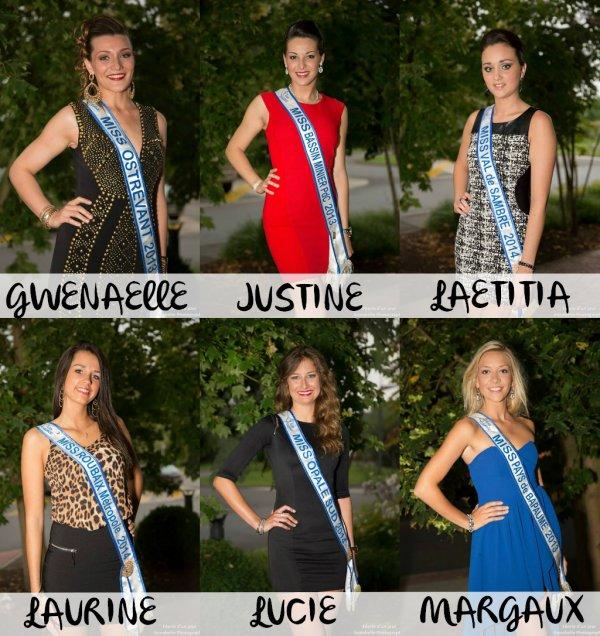 Miss Nord-Pas-de-Calais 2014 :: Les premières candidates