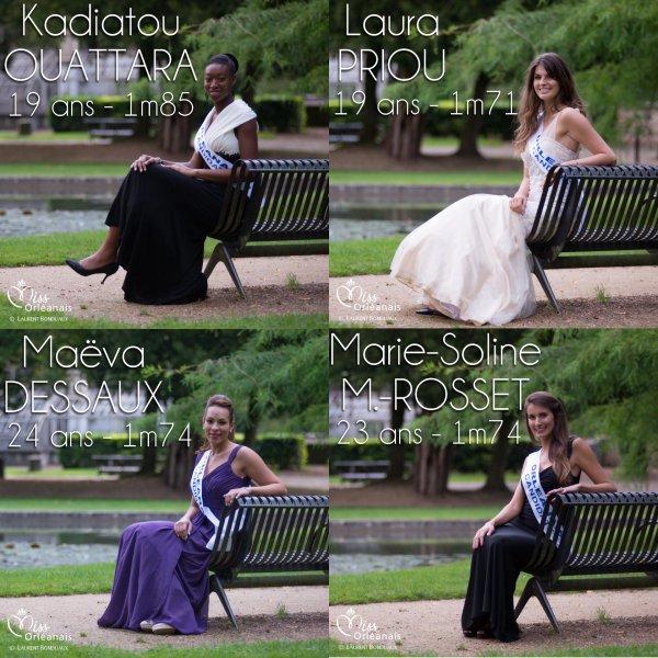 Miss Orléanais 2014 :: Les candidates