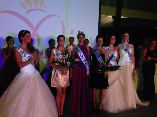 Miss Bassin d'Arcachon 2014 | Miss Gers 2014
