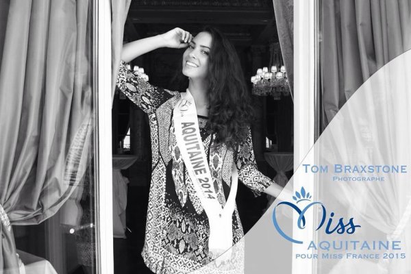 Miss Aquitaine 2014 :: Nouvelles photos de Malaurie Eugénie