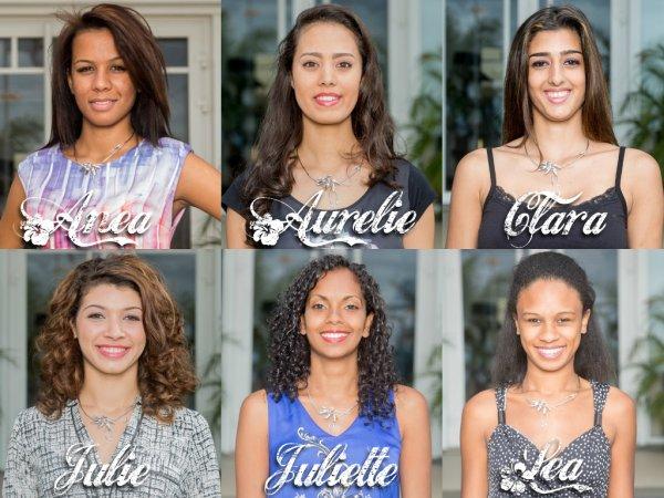Miss Réunion-Nord 2014 :: Les candidates