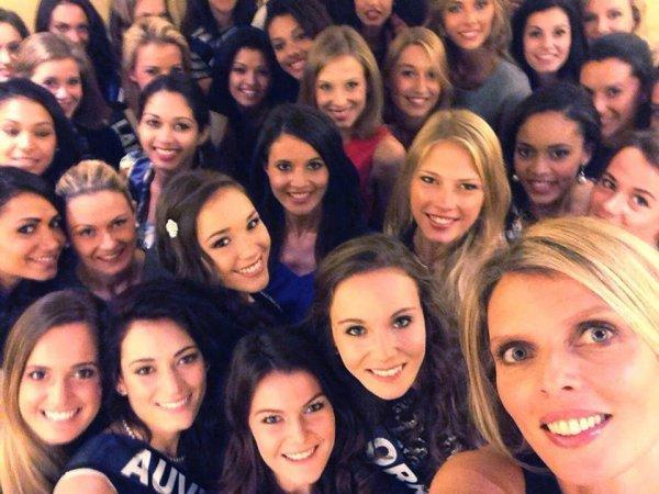 Les candidates à Miss France 2015 réunies à Paris !