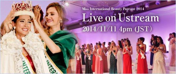 Miss International 2014 :: Liens permanents de l'élection