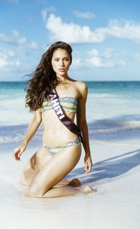 Miss Tahiti 2014 :: Hinarere Taputu