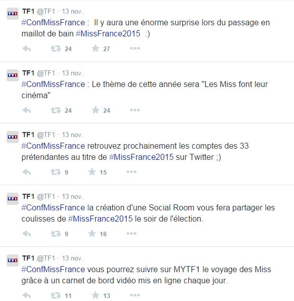 Miss France 2015 :: Ce que nous a appris la conférence de presse