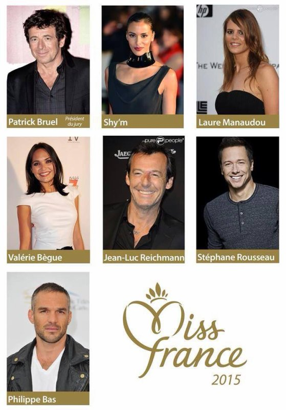 Article spécial :: Jury Miss France 2015
