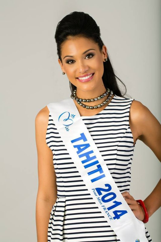 Miss Tahiti 2014 :: Nouvelles photos de Hinarere Taputu