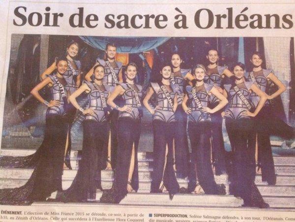 Miss France 2015, c'est ce soir !