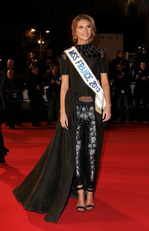Camille Cerf était aux NRJ Music Awards
