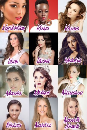 Miss Univers 2014 :: Les candidates