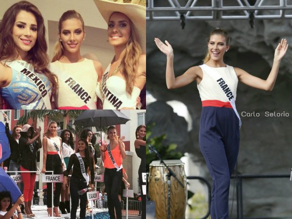 Camille Cerf - Miss Univers
