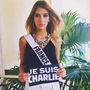 "Miss Univers - ""Je suis Charlie"""