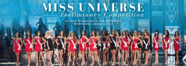 Miss Univers - Compétition préliminaire