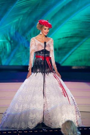 Camille Cerf - Compétition préliminaire Miss Univers