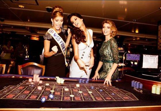Les Miss France en croisière