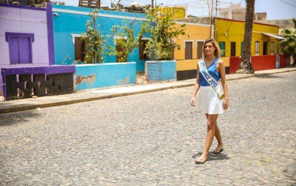 Camille Cerf au Cap-Vert