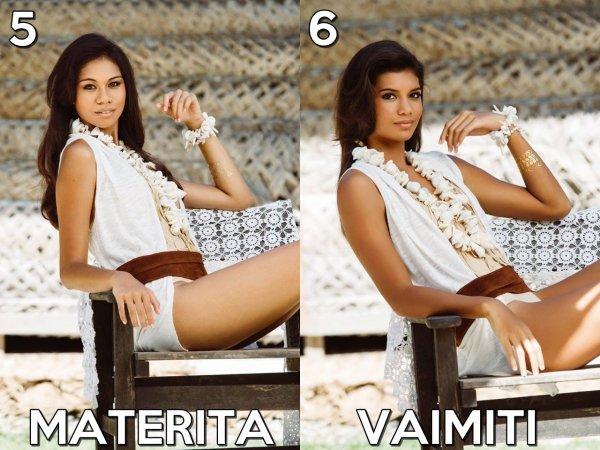 Miss Tahiti 2015 :: Nouvelles photos et portraits vidéos des candidates