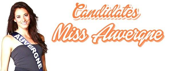 MISS AUVERGNE 2015 :: Les candidates