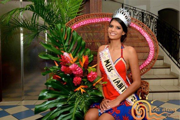 MISS TAHITI 2015 :: VAIMITI TEIEFITU