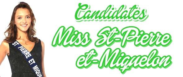 MISS SAINT-PIERRE-ET-MIQUELON 2015 :: Les candidates