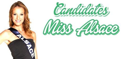 MISS ALSACE 2015 :: Les candidates