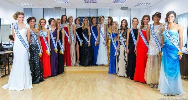MISS NORD-PAS-DE-CALAIS 2015 :: Les candidates