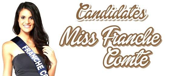 MISS FRANCHE-COMTÉ 2015 :: Les candidates